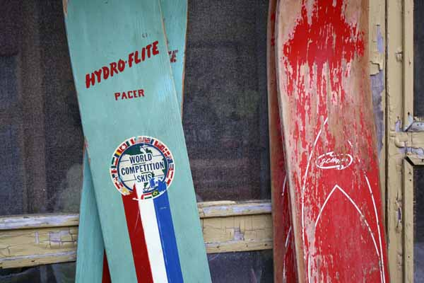 vintage water skis2 | the both and | shorts and longs | julie rybarczyk