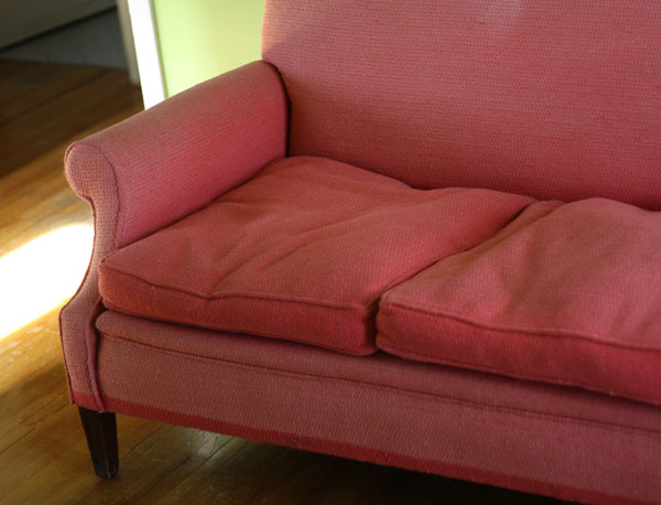 pink couch pink sofa | shorts and longs | julie rybarczyk7