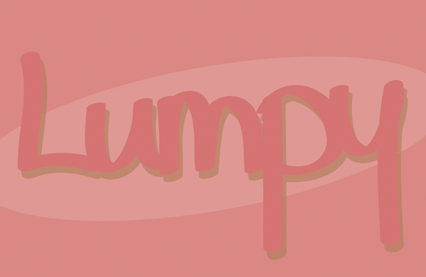 feeling lumpy | shorts and longs | julie rybarczyk