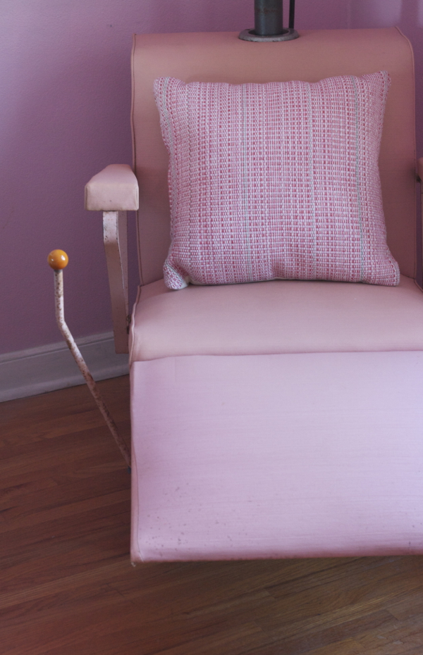 helene curtis pink beauty salon chair - shorts and longs - julie rybarczyk 22