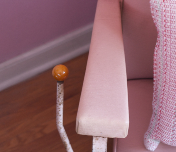 helene curtis pink beauty salon chair - shorts and longs - julie rybarczyk2