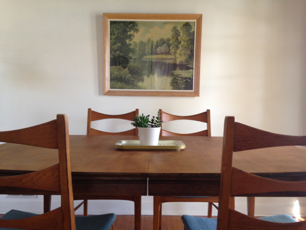 shorts and longs - julie rybarczyk - mid-century modern dining set2